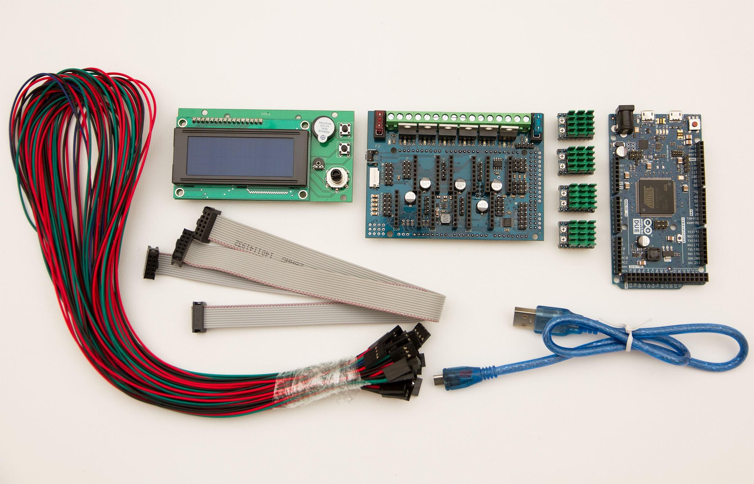 RADDS v1.6+4xRaps+LCD  Set