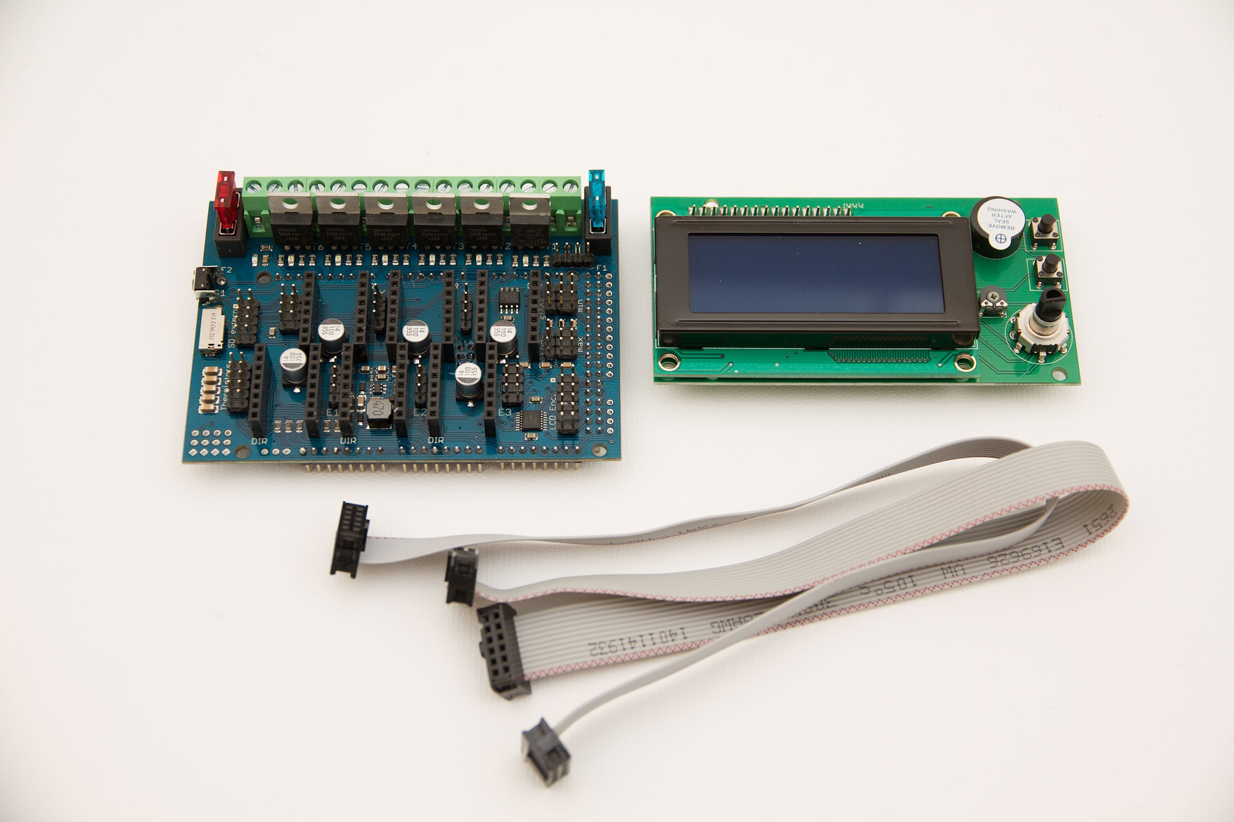 Set RADDS v1.6 +LCD-Display