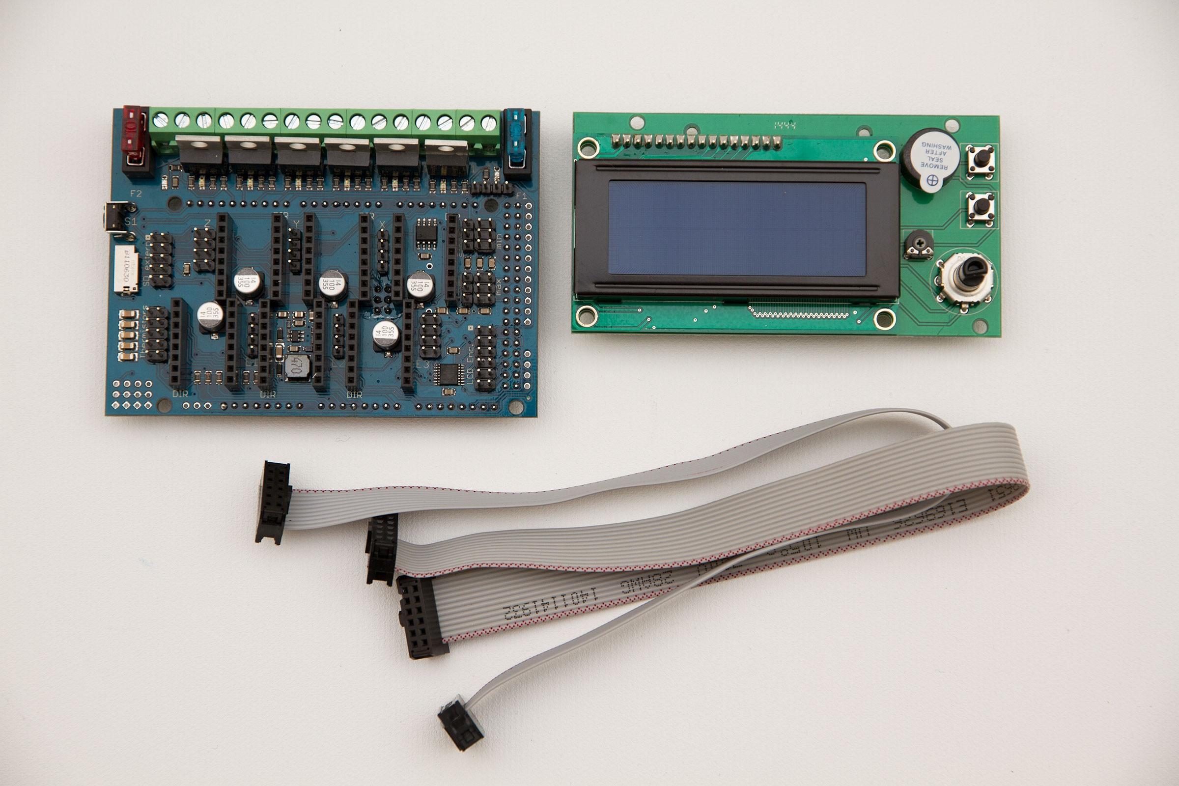 1x RADDS v1.6+4x RAPS12+1x RADDS-LCD-SD Display