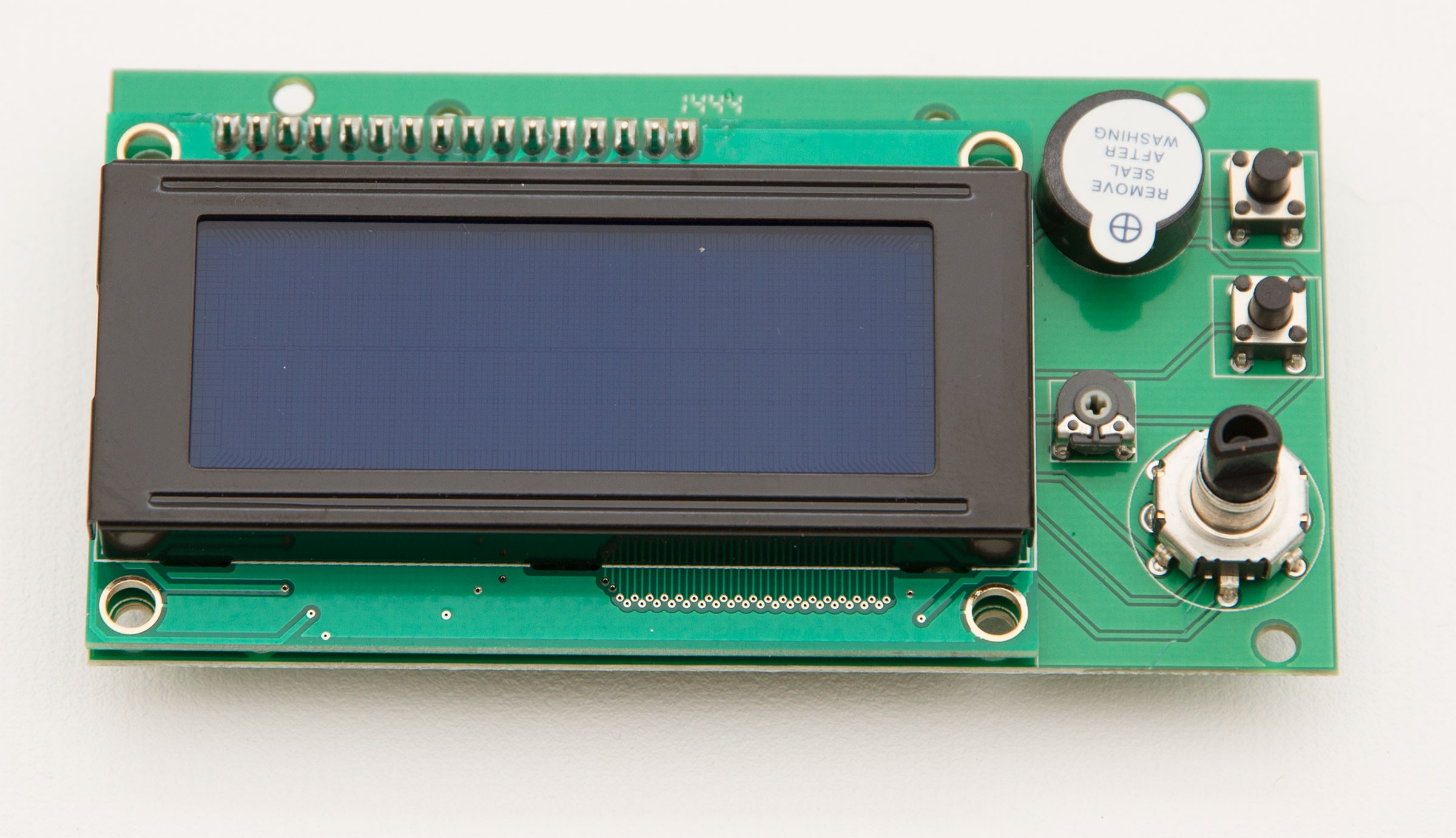 LCD/SD-Display with Reset- and Back-Button for RADDS v1.1